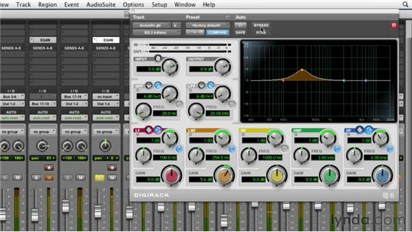 Equalizing the acoustic guitar: Audio Mixing Bootcamp