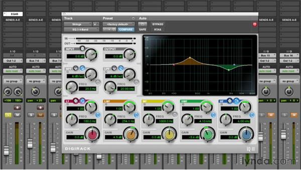 Equalizing the strings: Audio Mixing Bootcamp