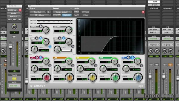 Equalizing the reverb: Audio Mixing Bootcamp