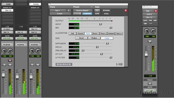 Adding reverb to the piano: Audio Mixing Bootcamp