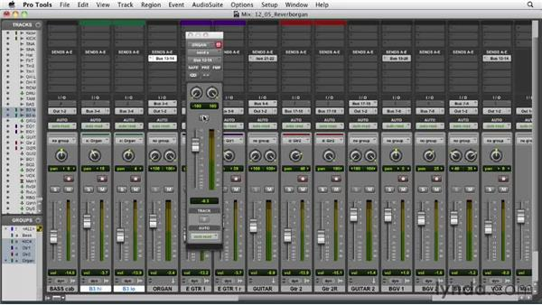 Adding reverb to the organ: Audio Mixing Bootcamp