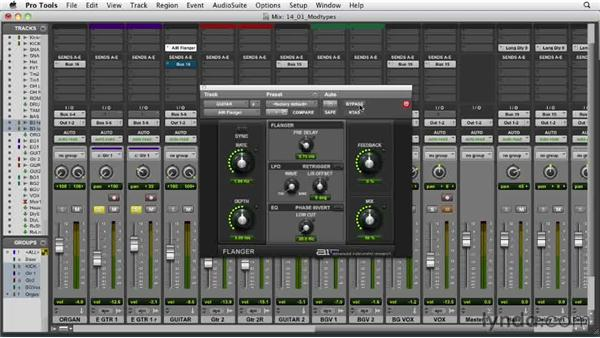 Understanding the types of modulation: Audio Mixing Bootcamp