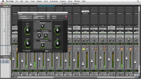 Modulating the keyboards: Audio Mixing Bootcamp