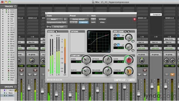 Understanding the evils of hypercompression: Audio Mixing Bootcamp