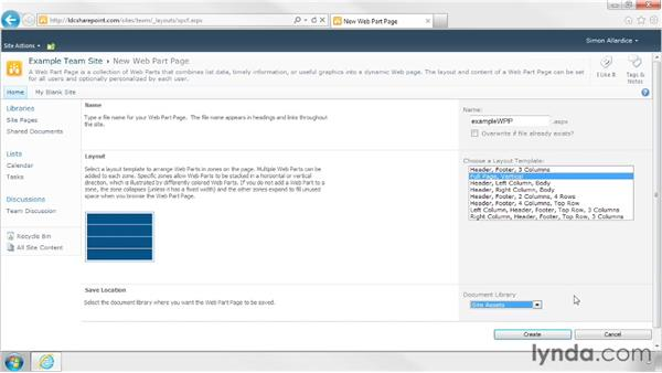 Creating new pages: SharePoint Designer 2010: Branding SharePoint Sites
