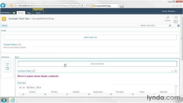 Customizing web part pages: SharePoint Designer 2010: Branding SharePoint Sites