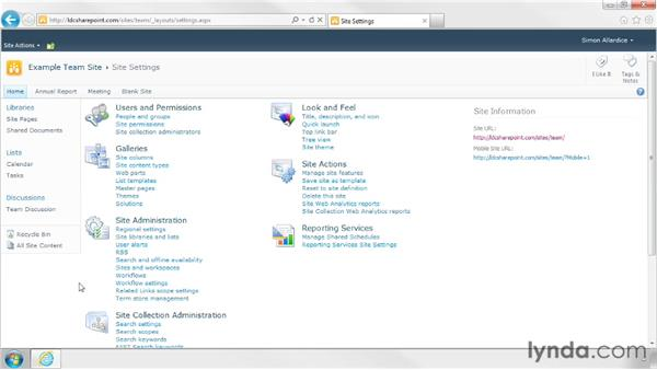 Discovering what permissions you have: SharePoint Designer 2010: Branding SharePoint Sites