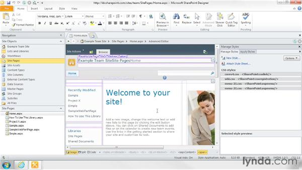Creating custom CSS files: SharePoint Designer 2010: Branding SharePoint Sites
