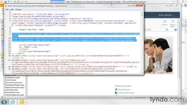 Linking to a custom CSS file in a Foundation site: SharePoint Designer 2010: Branding SharePoint Sites