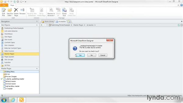 Designing a new master page: SharePoint Designer 2010: Branding SharePoint Sites
