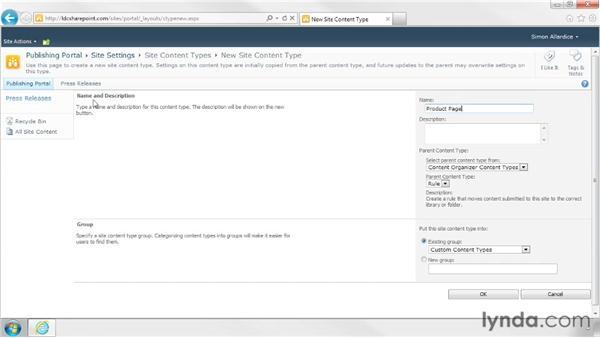Creating a custom content type: SharePoint Designer 2010: Branding SharePoint Sites