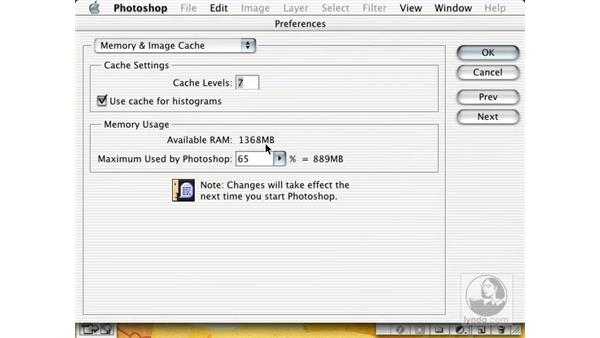 prefs and memory: New in Photoshop 7