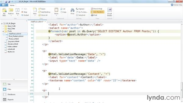 Using CAPTCHAs to protect forms: Up and Running with WebMatrix and ASP.NET