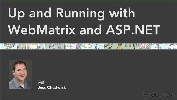 Goodbye: Up and Running with WebMatrix and ASP.NET