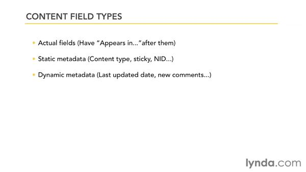 Surveying field types: Drupal 7: Reporting and Visualizing Data