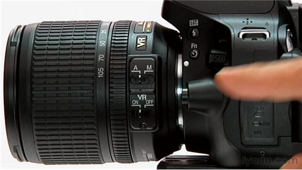 Lens controls: Shooting with the Nikon D5100