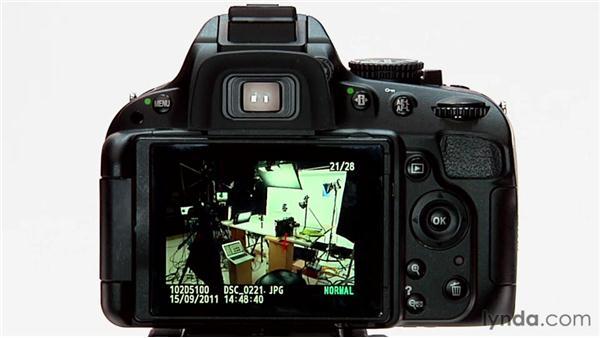 Image playback: Shooting with the Nikon D5100