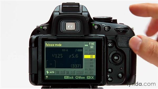 The Info Edit button: Shooting with the Nikon D5100