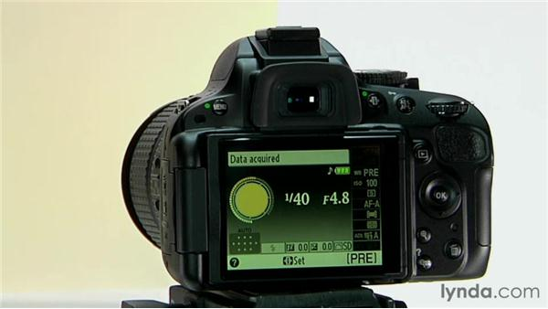 manual white balance rh lynda com Nikon D5100 Settings Photography by Nikon D5100