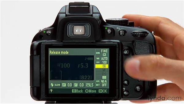 Quiet mode: Shooting with the Nikon D5100