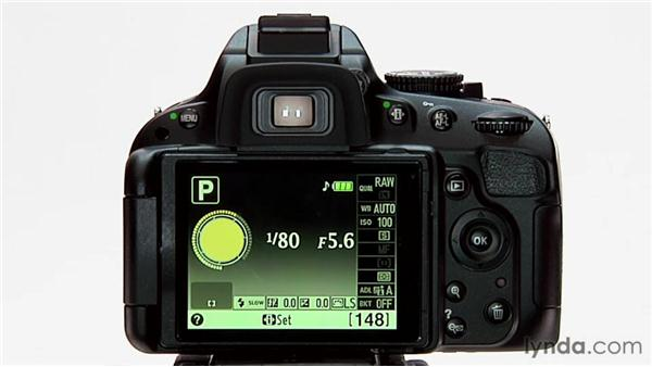 Exposure lock: Shooting with the Nikon D5100