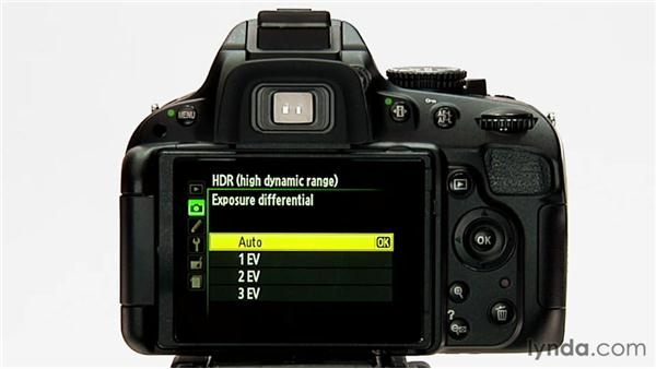 HDR: Shooting with the Nikon D5100