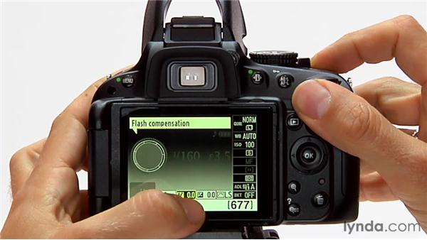 Flash exposure compensation: Shooting with the Nikon D5100