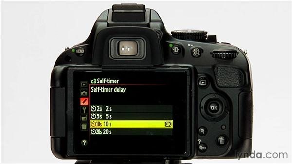 Self-timer: Shooting with the Nikon D5100
