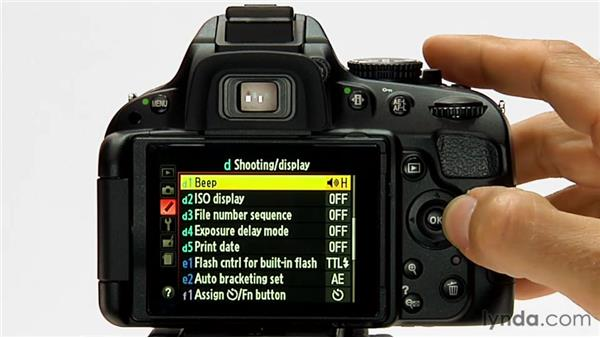 Exposure Delay mode: Shooting with the Nikon D5100