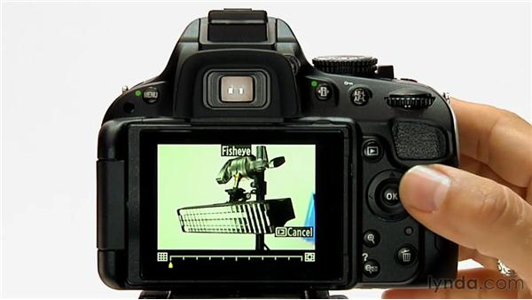 Applying image retouching: Shooting with the Nikon D5100