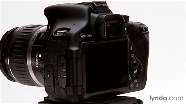 Basic camera anatomy: Shooting with the Canon Rebel T3i (600D and Kiss X5)