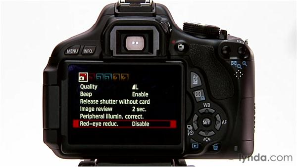 Menu navigation and factory defaults: Shooting with the Canon Rebel T3i (600D and Kiss X5)