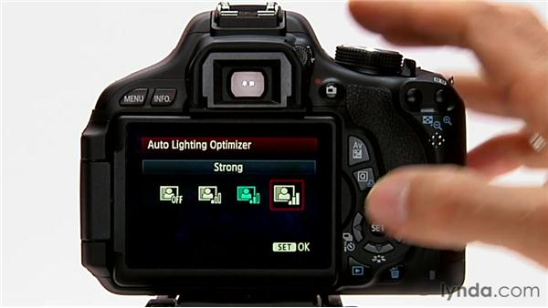 Auto lighting optimizer: Shooting with the Canon Rebel T3i (600D and Kiss X5)