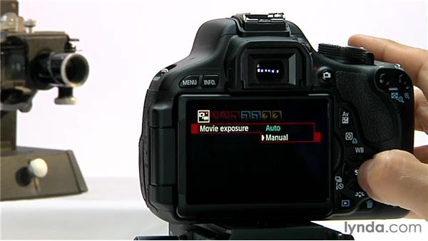 Exposure control: Shooting with the Canon Rebel T3i (600D and Kiss X5)