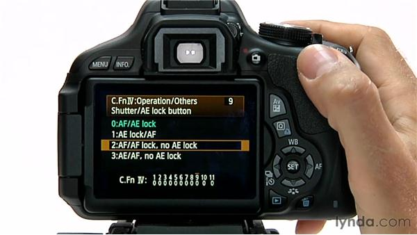 Shutter/AE Lock button: Shooting with the Canon Rebel T3i (600D and Kiss X5)