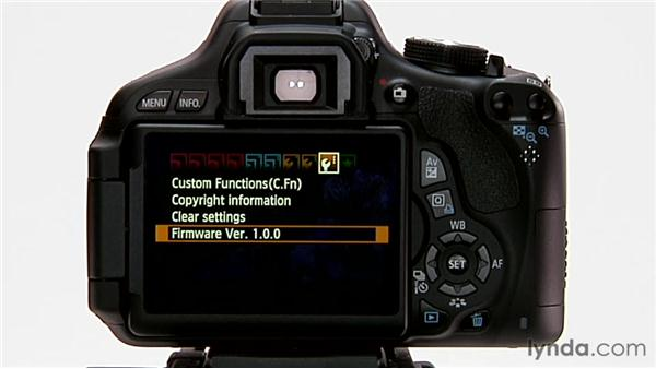 Firmware updates: Shooting with the Canon Rebel T3i (600D and Kiss X5)