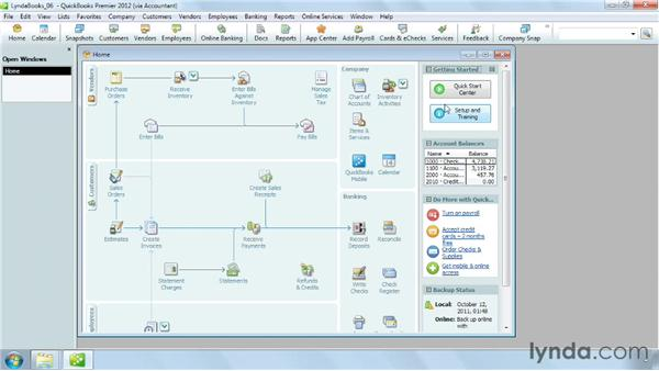 Setting up time tracking: QuickBooks Pro 2012 Essential Training