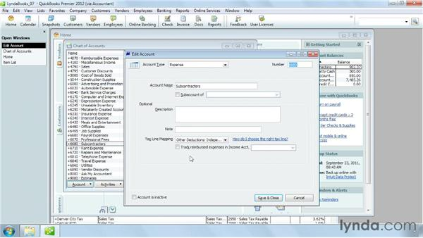Handling reimbursable expenses: QuickBooks Pro 2012 Essential Training