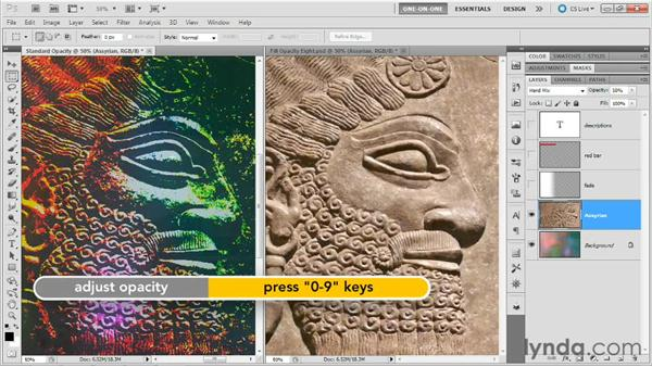 "The ""Fill Opacity Eight"": Photoshop Masking and Compositing: Advanced Blending"