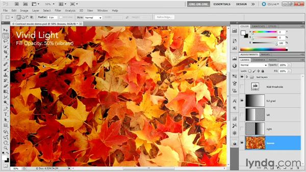 Vivid, Linear, and Pin Light: Photoshop Masking and Compositing: Advanced Blending