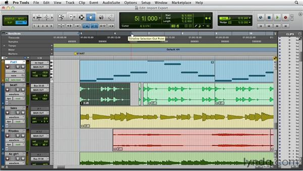 Interface and nomenclature changes: Pro Tools 10 New Features