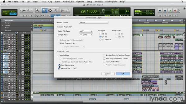 New importing and exporting features: Pro Tools 10 New Features