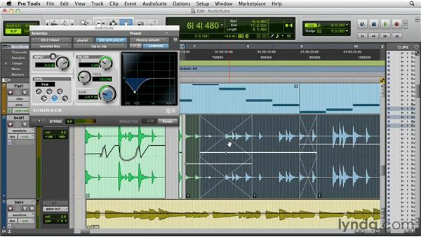 Improvements to AudioSuite plug-ins: Pro Tools 10 New Features