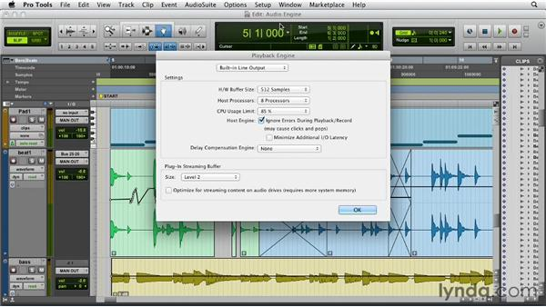 The brand-new Audio Engine: Pro Tools 10 New Features