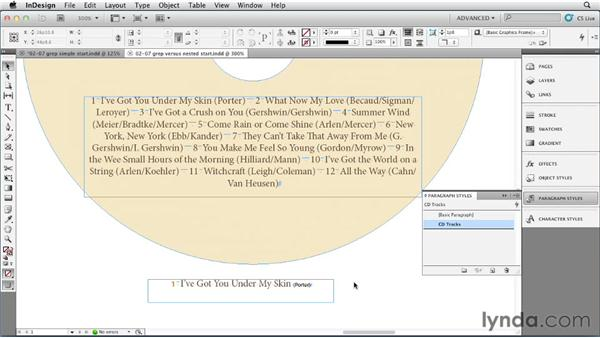 Using GREP styles to automate text formatting: InDesign Styles in Depth