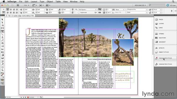 Building spine-based alignment into a style: InDesign Styles in Depth