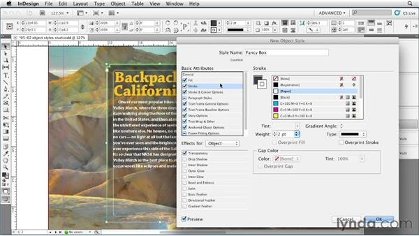 Creating, applying, and modifying object styles: InDesign Styles in Depth