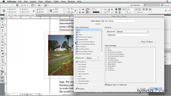 Limiting the definition of an object style: InDesign Styles in Depth