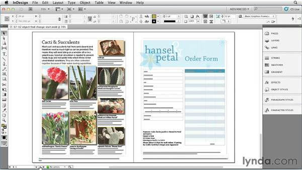 Applying object styles with Find/Change: InDesign Styles in Depth