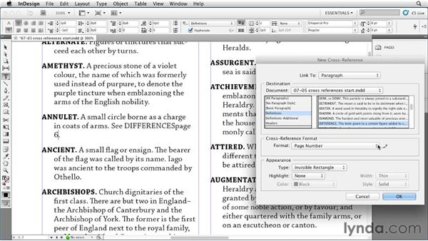 Leveraging styles to set up cross-references: InDesign Styles in Depth